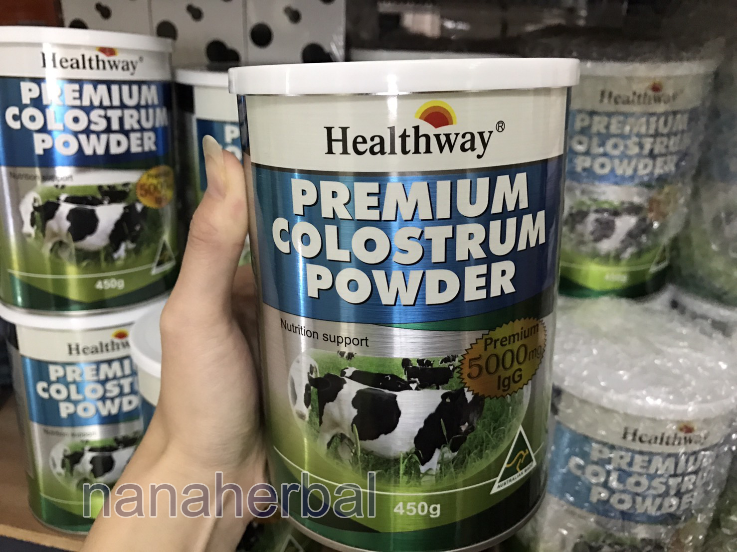 HEALTHWAY PREMIUM COLOSTRUM POWDER 5000lgg