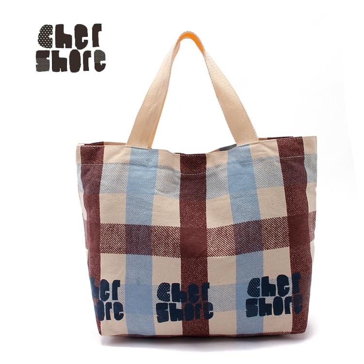 พร้อมส่งค่ะ Cher shore fabric tote original package เท่ๆน่ารักแบบเรียบง่ายค่ะ