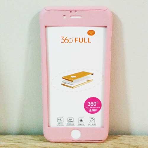 เคสไอโฟน 6/6S ประกบ สีชมพู
