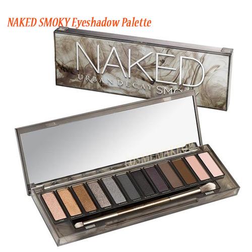 ส่งฟรี Urban Decay NAKED SMOKY Eyeshadow Palette พาเลทของสาวมั่น พร้อมที่จะเฉิดฉายในทุกแห่ง เทรนด์แต่งหน้าที่ไม่มี OUT ใช้ได้ทั้งกลางวันและกลางคืน