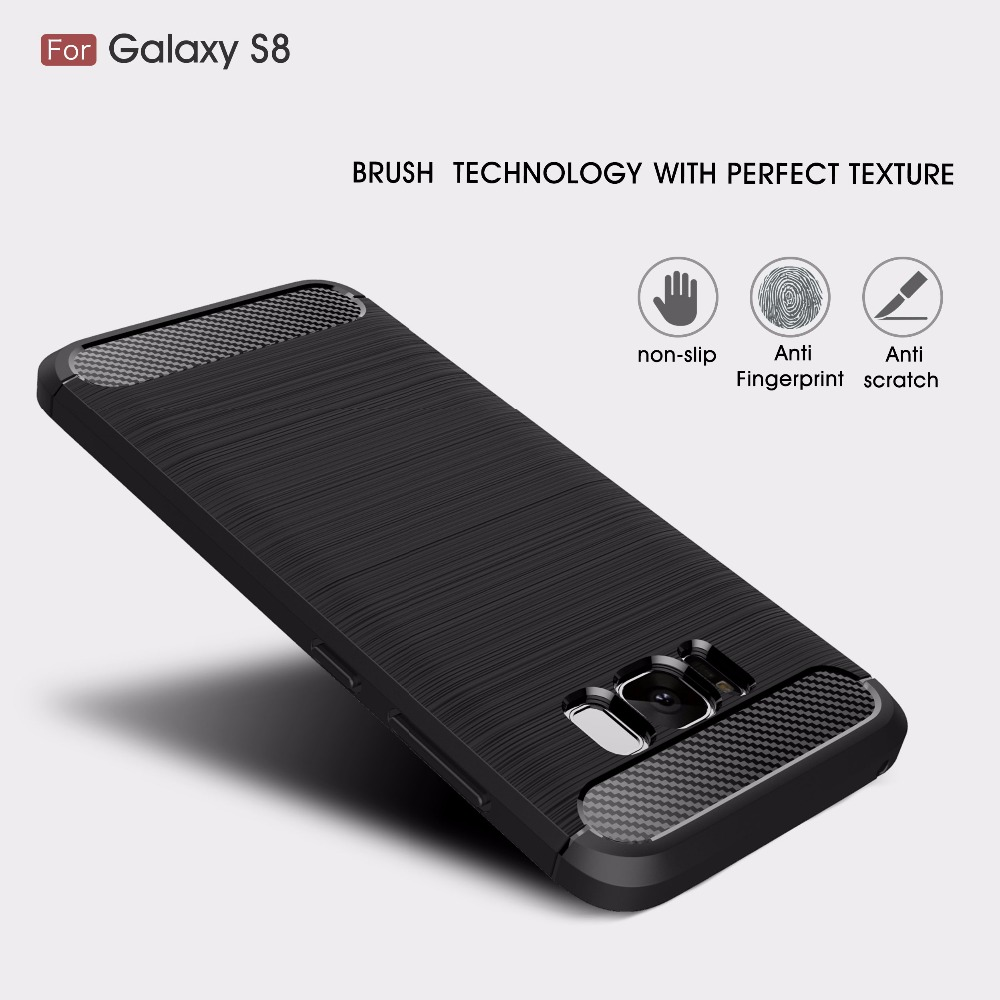 Hybrid Carbon TPU Case (Samsung Galaxy S8)