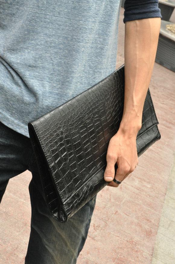 กระเป๋าถือลายจระเข้ KOREAN Style 2011