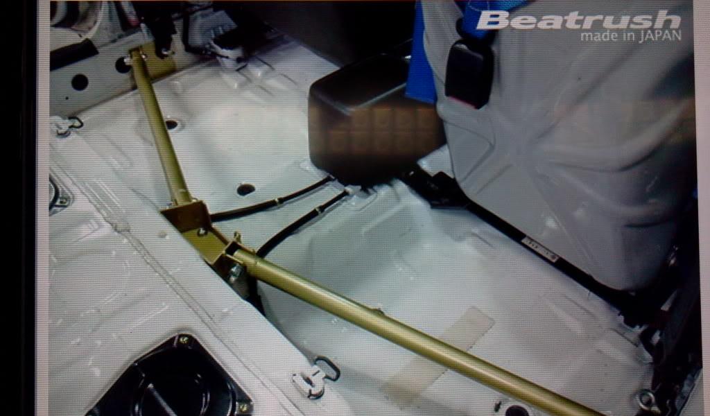 ค้ำใต้เสา B Beatrush 3 จุด