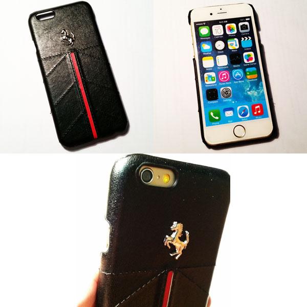 เคสไอโฟนพลาสติก Ferrari ไอโฟน 6 พลัส