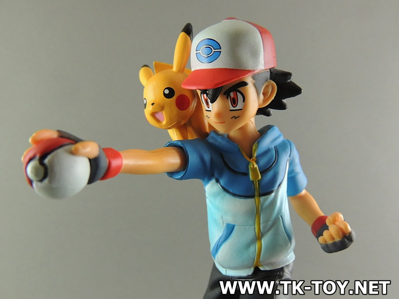 G.E.M. Series - Pokemon: Ash & Pikachu & Charmander Complete Figure โมเดลซาโตชิ&ปิกัจจู (งานกล่อง)