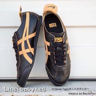 Onitsuka Tiger Mexico 66 (Black/Tan) ของแท้100% ของใหม่มีกล่องป้ายครบ 4,400 บาท