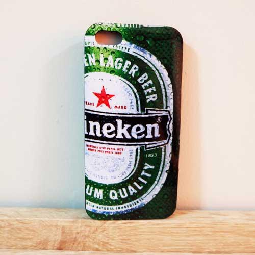 เคสไอโฟน 6 เคสยาง Heineken