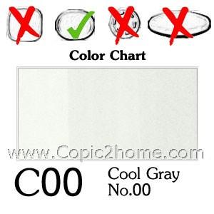 C00 - Cool Gray No.00