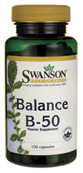 Swanson Premium Balance B-50 100 Capsules