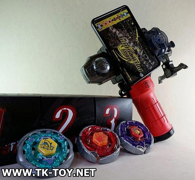 TAKARA TOMY Beyblade Launcher Grip [GR] BOX SET.