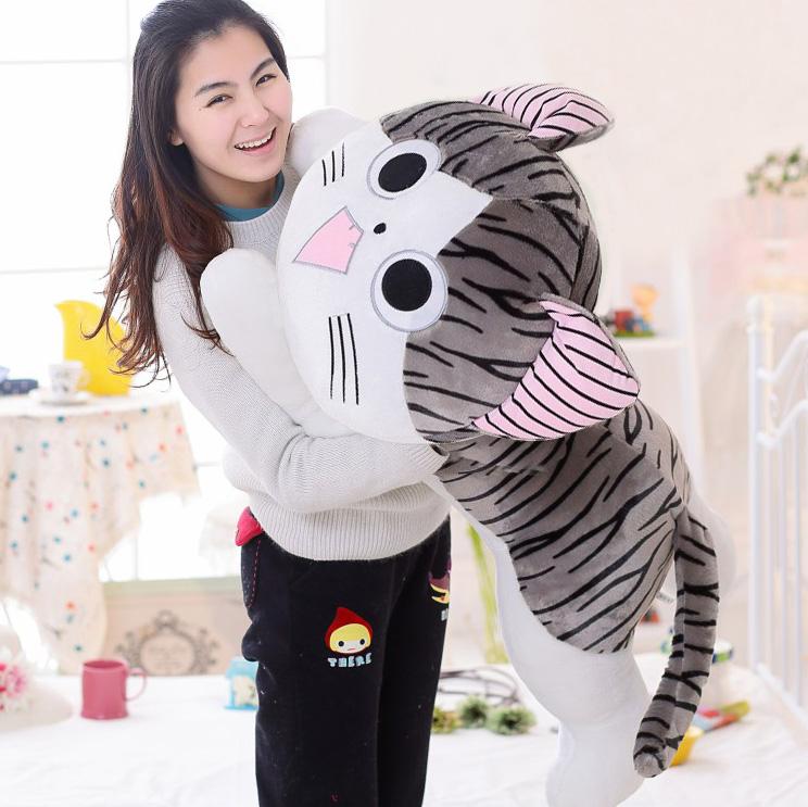 ตุ๊กตาแมวจี้ยักษ์ ไซด์ XXL ตาโต