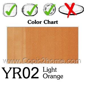 YR02 - Light Orange