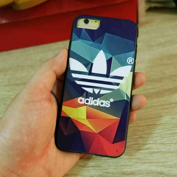 เคส Adidas ไอโฟน 5/7 ลายพิมพ์นูน