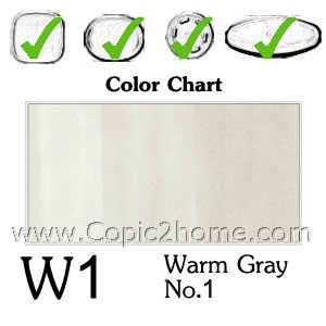 W1 - Warm Gray No.1