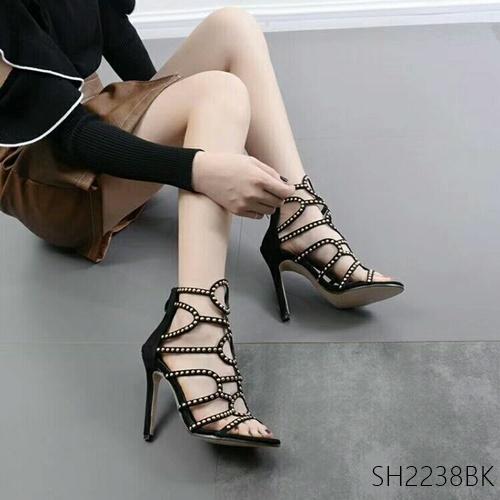 Pre รองเท้าคัทชู ส้นสูง แฟชั่น ราคาถูก มีไซด์ 35-39