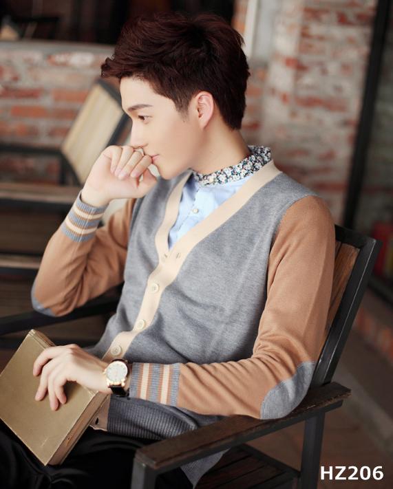 เสื้อกันหนาวสเวสเตอร์แฟชั่นสไตล์เกาหลี