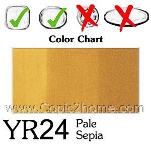 YR24 - Pale Sepia