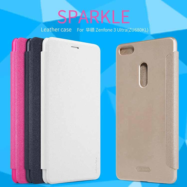 Nillkin Sparkle Leather Case (Asus Zenfone 3 ULTRA)