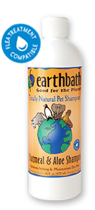 Earthbath OATMEAL & ALOE สูตรรักษารังแค ผิวหนังแห้ง คัน หรือปัญหาผิวหนังอื่นๆ