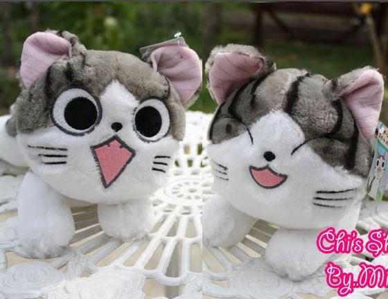 ตุ๊กตาแมวจี้ ไซด์ S (เลือหน้าที่ต้องการ)