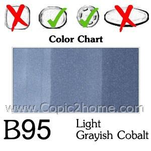 B95 - Light Grayish Cobalt
