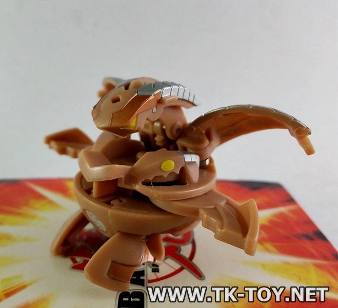 Bakugan New Vestroia Bakuneon [3 Headed Dragonoid]