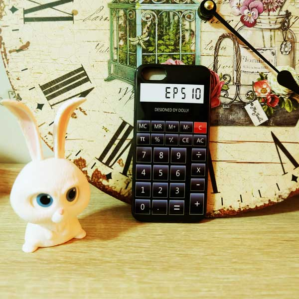 เคสไอโฟน 5/5s/SE เคส เครื่องคิดเลข