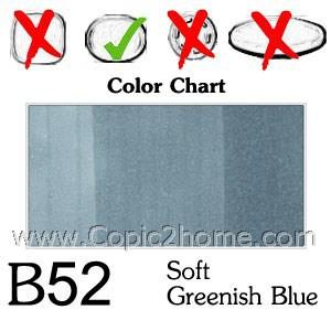 B52 - Soft Greenish Blue