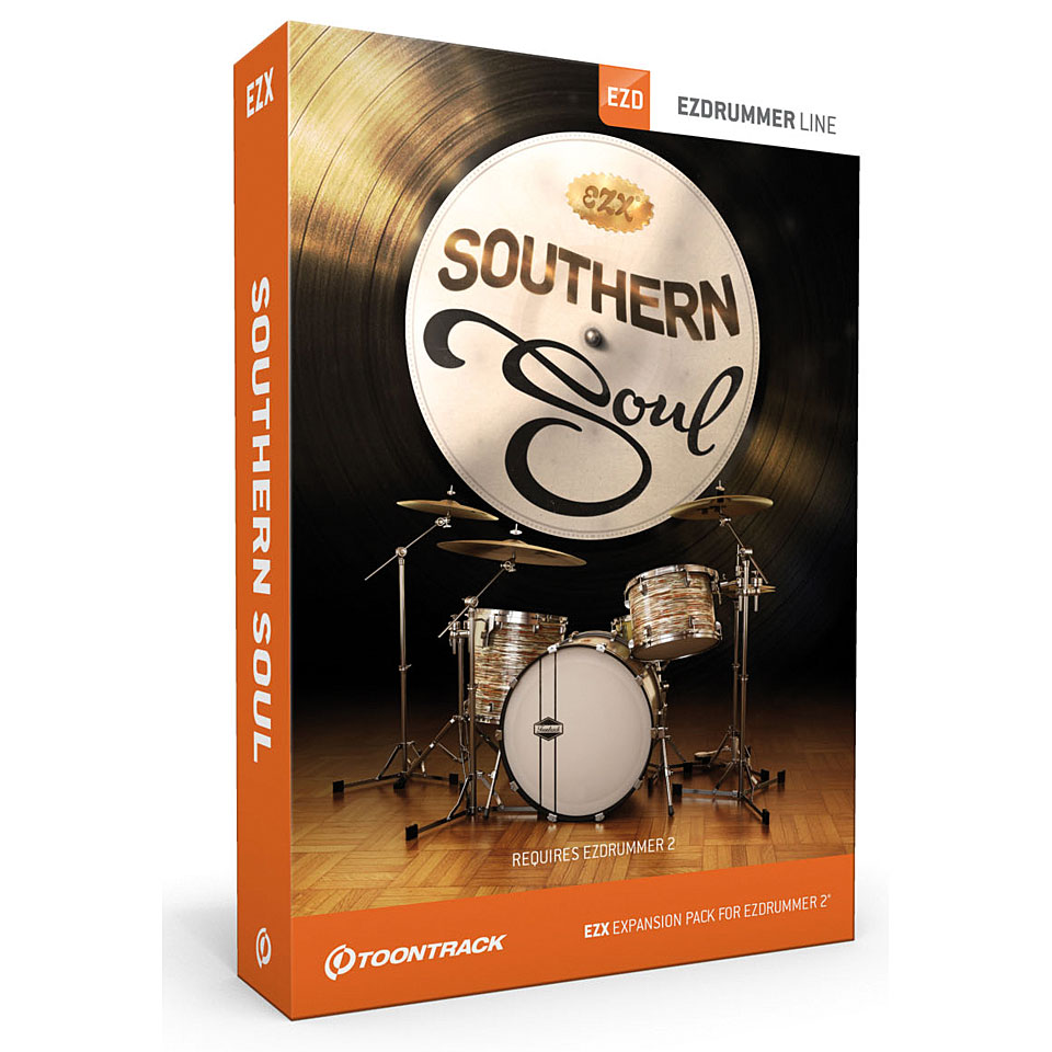Toontrack EZdrummer EZX2 Southern Soul