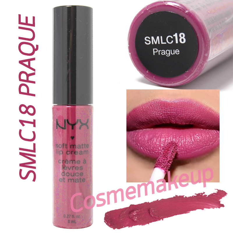NYX SOFT MATTE LIP CREAM #SMLC18 PRAQUE