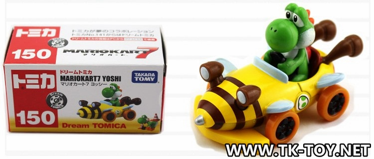 TAKARA TOMY MARIOKART7 YOSHI [Dream Tomica]