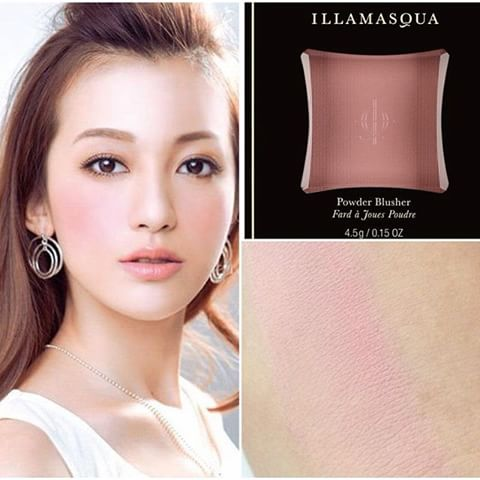 ลดพิเศษ ILLAMASQUA Powder Blusher สี Naked Rose ขนาดปกติ 4.5g. ของแท้ เคาเตอร์ไทย