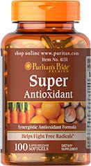 Puritan's Pride - Super Antioxidant 100 Softgels