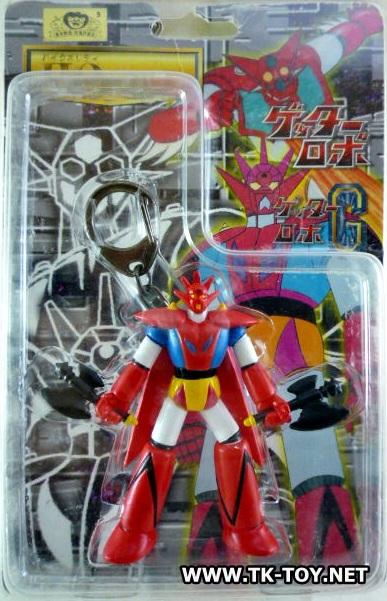 พวงกุญแจ Getter Robo G (แมวทอง)