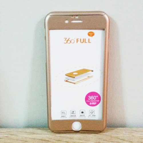เคสไอโฟน 7/7s ประกบ สีทอง