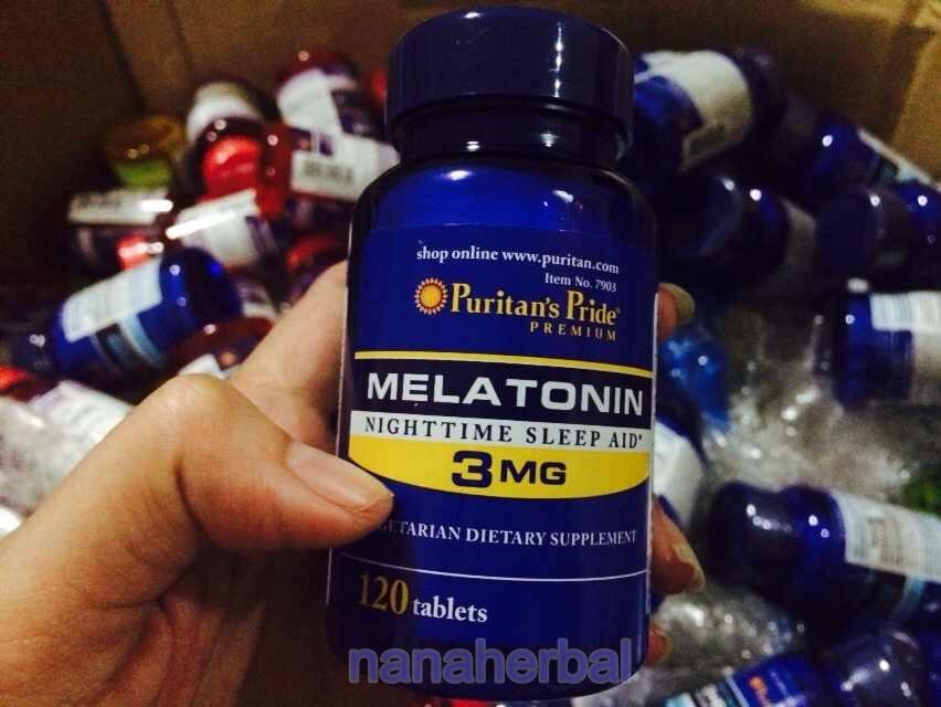Puritan's Pride melatonin