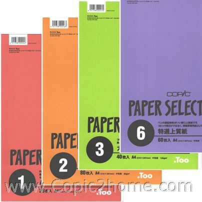 Copic Paper Selections