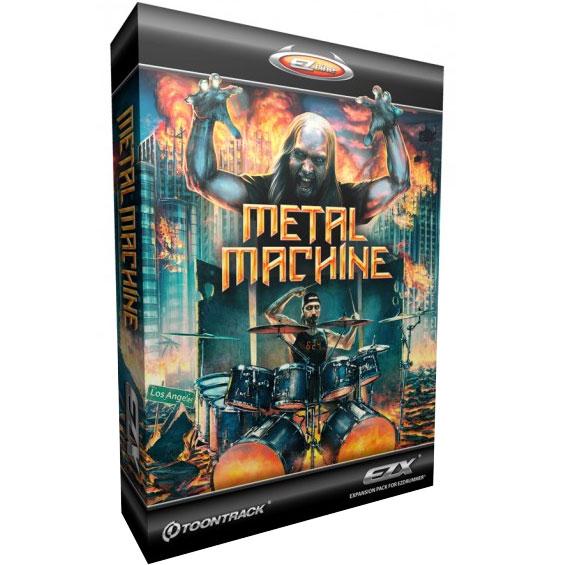 Toontrack EZdrummer EZX Metal Machine