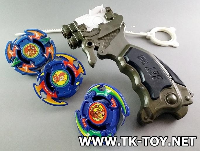 TAKARA TOMY Beyblade Launcher Grip Set [หงส์แดง]