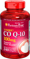 Puritan's Pride - Q-Sorb CO Q-10 100 mg 240 Softgels