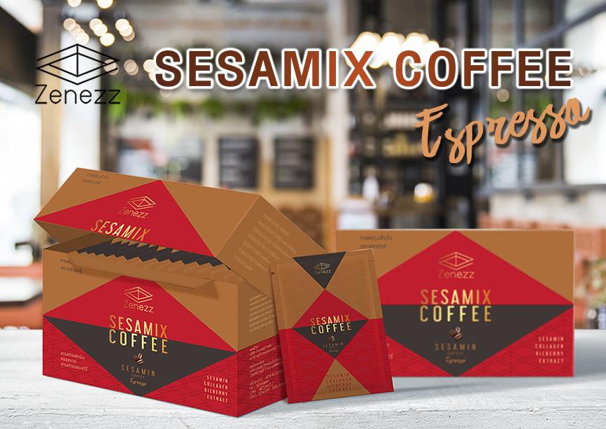 Sesamix เซซามิกซ์ Zeness เซเนส อาหารเสริม