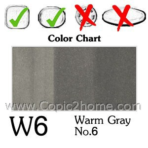 W6 - Warm Gray No.6