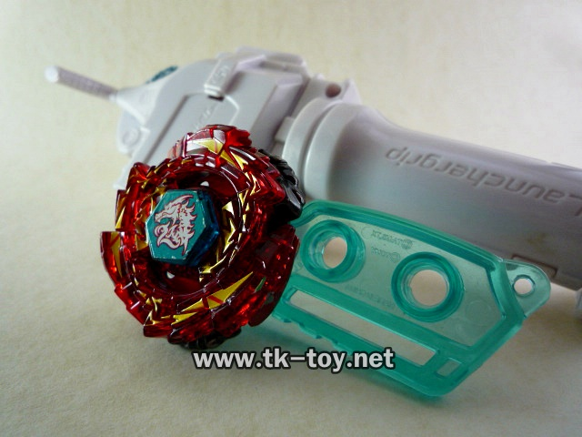 Beyblade Ultimate Meteo L-Drago Rush Red Dragon BB-98 With Launcher Grip [TAKARA TOMY]
