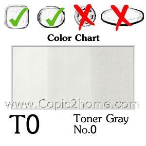 T0 - Toner Gray No.0