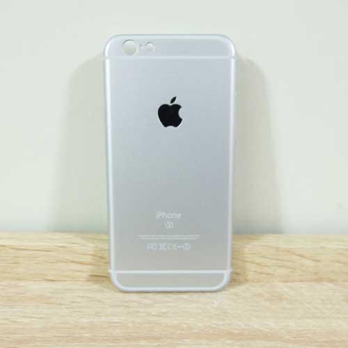 เคสไอโฟน 6/6S ลายไอโฟน 6S สีเงิน