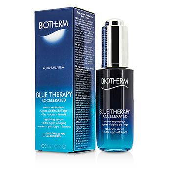 ไบโอเธิร์ม Biotherm Blue Therapy Accelerated Repairing Serum ปริมาณ 50 ml. (ไซด์ขาย) (ส่งฟรี)