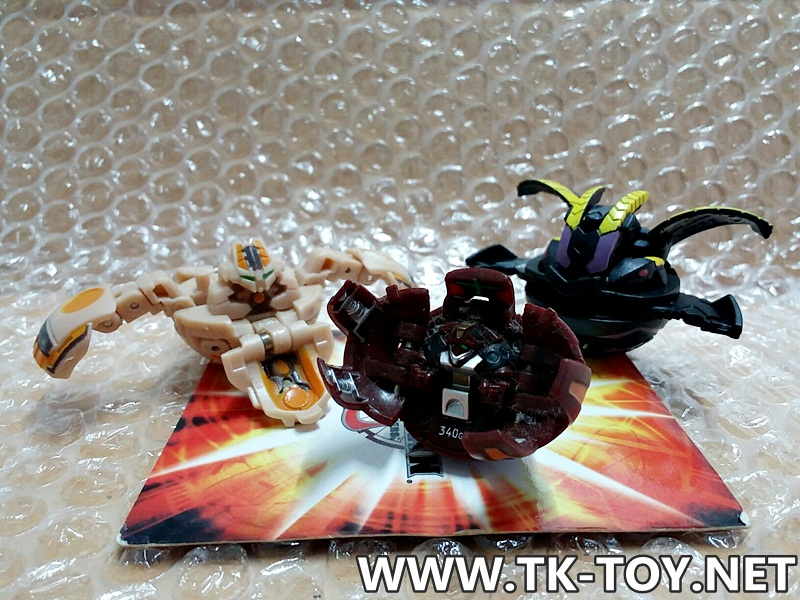 Bakugan battle brawlers set MG-2 [SEGA TOYS]