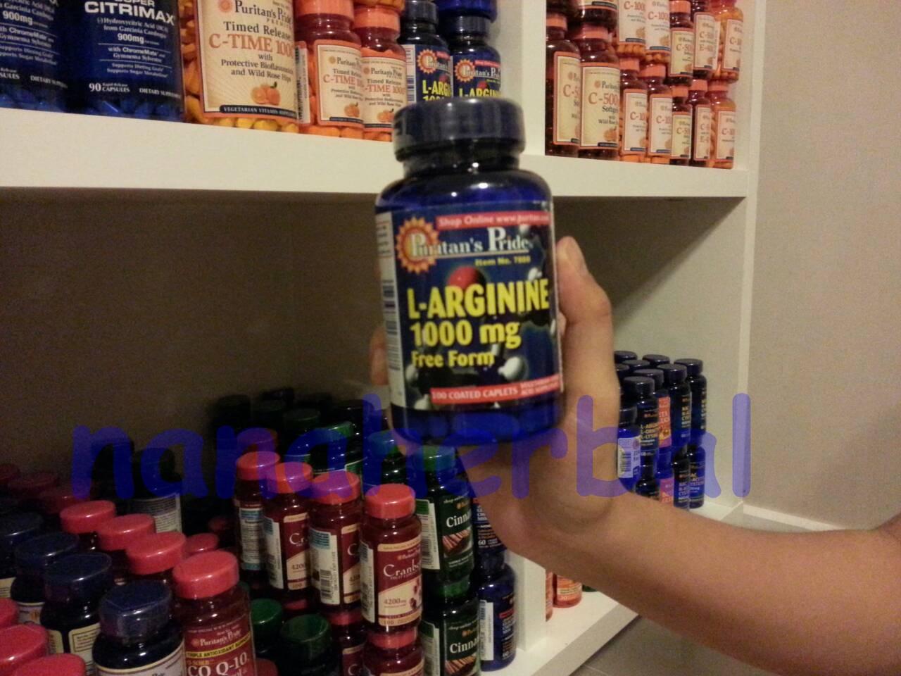 L-Arginine 1000 mg.