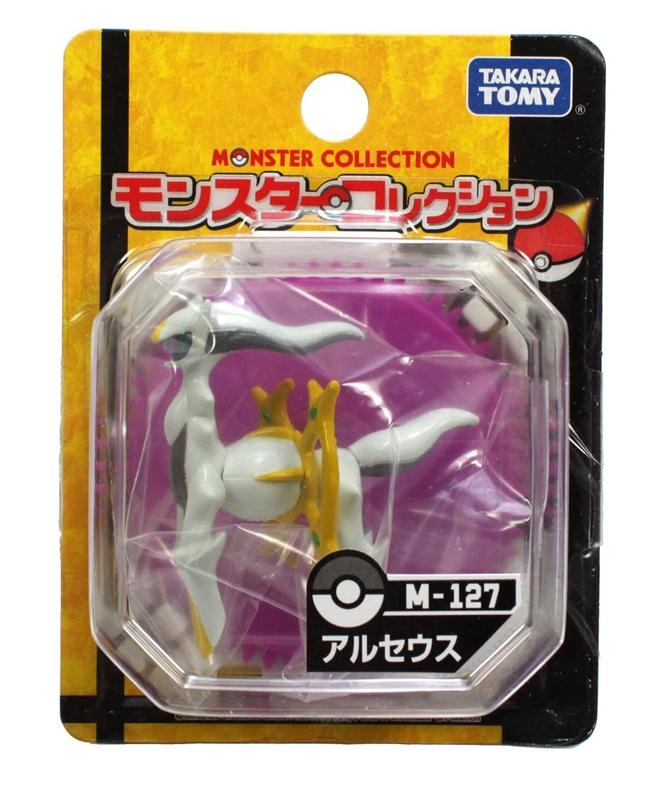 สินค้าเข้าแล้ว!!! (โปเกมอนในตำนาน) Takaratomy Monster Collection Pokemon Figure M-127 Arceus [ผู้สร้างสรรพสิ่ง]
