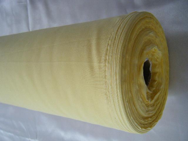 ผ้ามัสลินสีเหลืองอ่อน